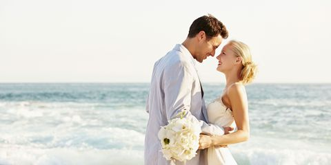 Photograph, Romance, Honeymoon, Bride, Ceremony, Wedding dress, Wedding, Gown, Love, Forehead,