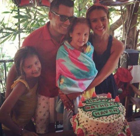 <p>Jessica Alba's daughter had a watermelon-themed fifth birthday.</p>