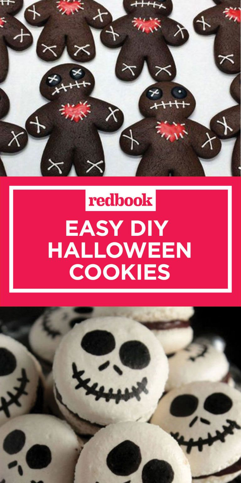24 Best Halloween Cookie Recipes , Spooky Halloween Cookie Ideas