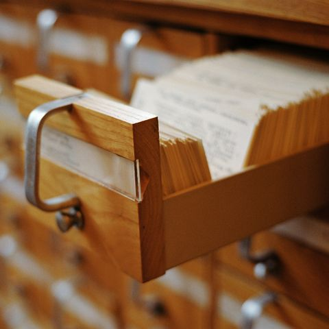 """<p>Do kids today even know what the Dewey Decimal system <em data-redactor-tag=""""em"""" data-verified=""""redactor"""">is</em>?</p><p><strong data-redactor-tag=""""strong"""" data-verified=""""redactor"""">RELATED: </strong><a href=""""http://www.redbookmag.com/life/mom-kids/g3587/school-supplies-list/"""" target=""""_blank"""" data-tracking-id=""""recirc-text-link""""><strong data-redactor-tag=""""strong"""" data-verified=""""redactor"""">50 School Supplies to Stock Your Student's Homework Station</strong></a> </p>"""