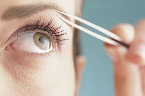 "<p>""Fuller brows are universally more youthful,"" says brow artist Sania Vucetaj, who counts Sarah Jessica Parker and Olivia Culpo among her clients. ""They take you back to your pre-waxing days and your youth before overdoing anything."" Don't despair if you <i data-redactor-tag=""i""><em data-redactor-tag=""em"" data-verified=""redactor"">have</em></i> over-plucked in the past, though. Simply fill in sparse areas with a brow pencil. The slanted tip and blending brush of Sania's Angled Mechanical Brow Pencil ($30; <a href=""http://www.saniasbrowbar.com/product/angled-mechanical-brow-pencil/"" data-tracking-id=""recirc-text-link"" target=""_blank"">saniasbrowbar.com</a>) make it easy to create an arch with natural-looking fullness. Also avoid putting creams, moisturizers or other lotions on your brow area. ""They impede hair growth by clogging the follicle,"" notes Vucetaj.&nbsp;<span class=""redactor-invisible-space"" data-verified=""redactor"" data-redactor-tag=""span"" data-redactor-class=""redactor-invisible-space""></span></p>"