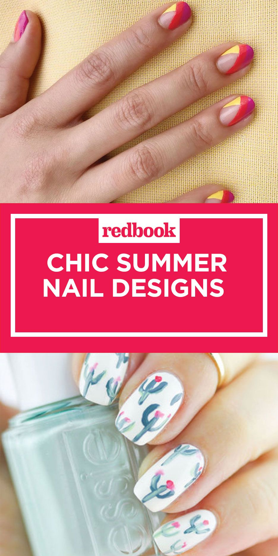 20 cute summer nail design ideas best summer nails of 2017 prinsesfo Choice Image