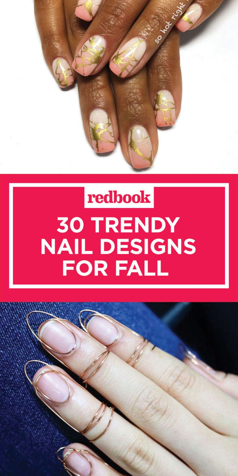 34 Fall Nail Designs for 2017 , Cute Autumn Manicure Ideas