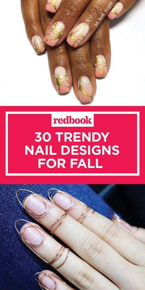 34 Fall Nail Designs For 2017 Cute Autumn Manicure Ideas
