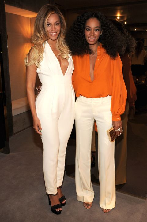 """<p>How old is Beyoncé, really? According to one wild conspiracy theory, she's in her early 40s and on top of that, she's Solange's mother — not sister. This is based on several things that come with no solid proof whatsoever: (1) a birth certificate from the <a href=""""http://www.tmz.com/2006/12/08/beyonces-32-girl-you-really-are-dreaming/"""">Department of Health in Texas</a> that supposedly shows Beyoncé's birth year as 1974&#x3B; (2) people hanging on to every word from a Gabrielle Union interview in which she claims she's been friends with Bey since they were teens (Gabrielle was born in 1972)&#x3B; (3) <a href=""""http://thetruthaboutcelebrities.blogspot.com/2011/04/truths-revealed.html"""">a rando Columbia Records employee</a> who claims to have seen Bey's driver's license (""""don't ask how""""), which apparently lists Bey's birth year as 1974. There's a related theory that mama Tina is actually Beyoncé's sister, but let's not even go there.</p>"""