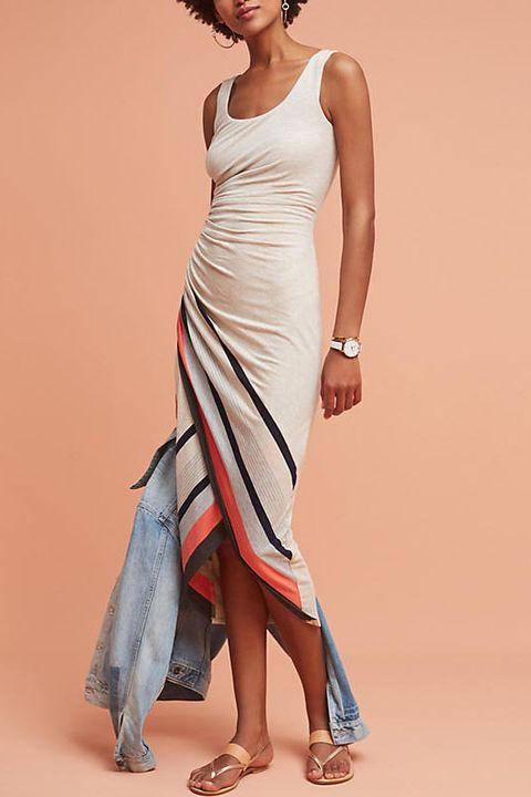 flattering maxi dresses