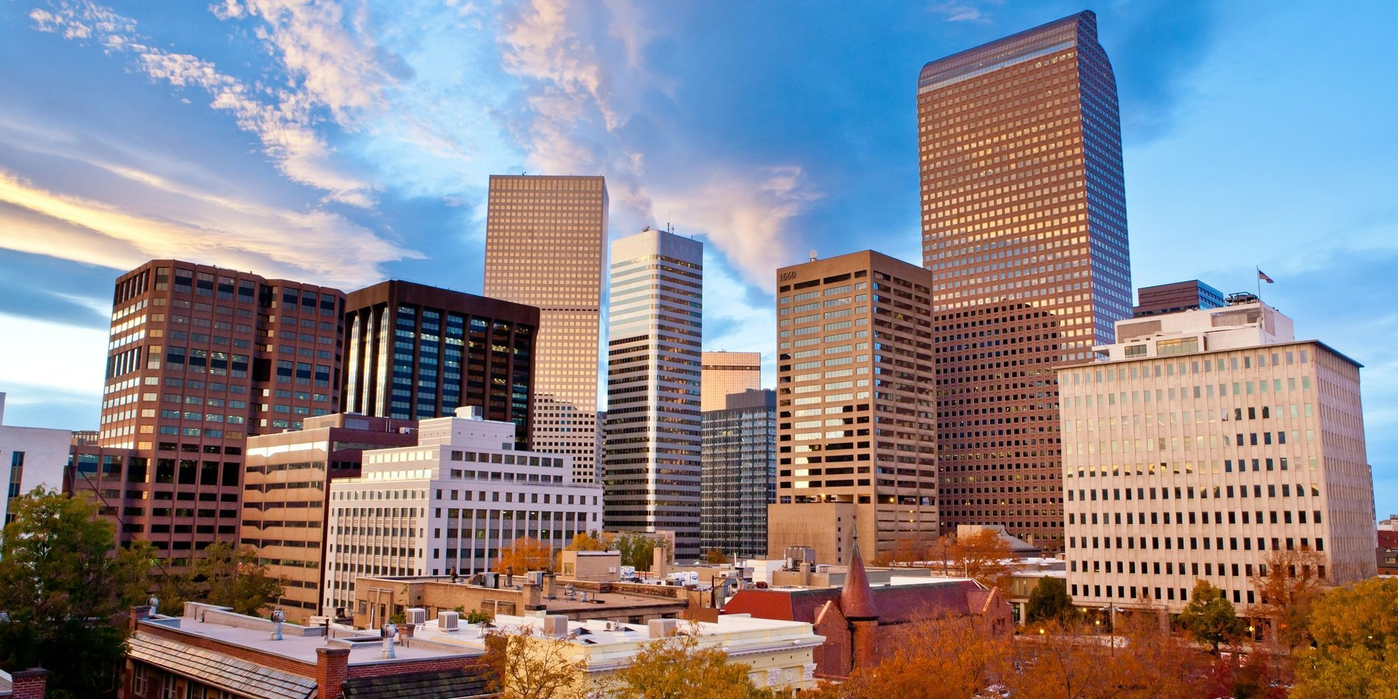 <p>Flights to Denver have a median price of $186.</p>