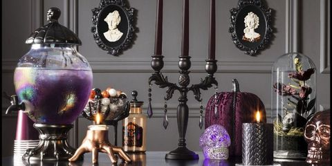 Purple, Lighting, Room, Still life photography, Table, Interior design, Still life, Furniture, Candle, Lighting accessory,