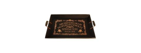"<p>Nothing says Halloween like a <a href=""http://www.delish.com/cooking/videos/a49630/how-to-make-ouija-board-cake-video/"" target=""_blank"" data-tracking-id=""recirc-text-link"">Ouija</a> board. This tray turns the game into a platter for all your <a href=""http://www.delish.com/holiday-recipes/halloween/g1681/grown-up-halloween-party/"" target=""_blank"" data-tracking-id=""recirc-text-link"">decorative eats</a>.</p><p><strong data-redactor-tag=""strong"" data-verified=""redactor"">Price</strong>: $20</p><p><a href=""https://www.target.com/p/halloween-spirit-board-serving-tray-hyde-and-eek-boutique-153/-/A-52354273#lnk=newtab"" target=""_blank"" data-tracking-id=""recirc-text-link"">Get it here.</a></p>"