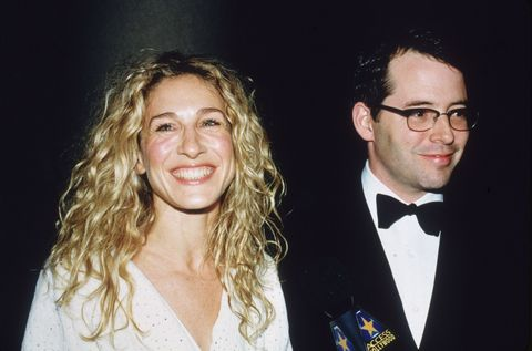 "<p>Congratulations to Sarah and Matthew, who celebrated 20 years of marriage earlier this year.</p><p>""Monday May 19th, 1997. It flew by Baby. Good golly I love you. XXX, Your wife,"" SJP wrote alongside an old-school photo of herself with Matthew <a href=""https://www.instagram.com/p/BUSJDdLDDKM/"" target=""_blank"">on Instagram</a>. <br></p><p>On what keeps their marriage ticking over, the <em data-redactor-tag=""em"">Godzilla</em> actor said simply (via <em data-redactor-tag=""em""><a href=""http://www.etonline.com/tv/199621_exclusive_sarah_jessica_parker_and_matthew_broderick_dish_on_marriage_secrets_and_divorce/"" target=""_blank"">ET</a></em>): ""Communicating. Don't go to bed mad.""</p>"