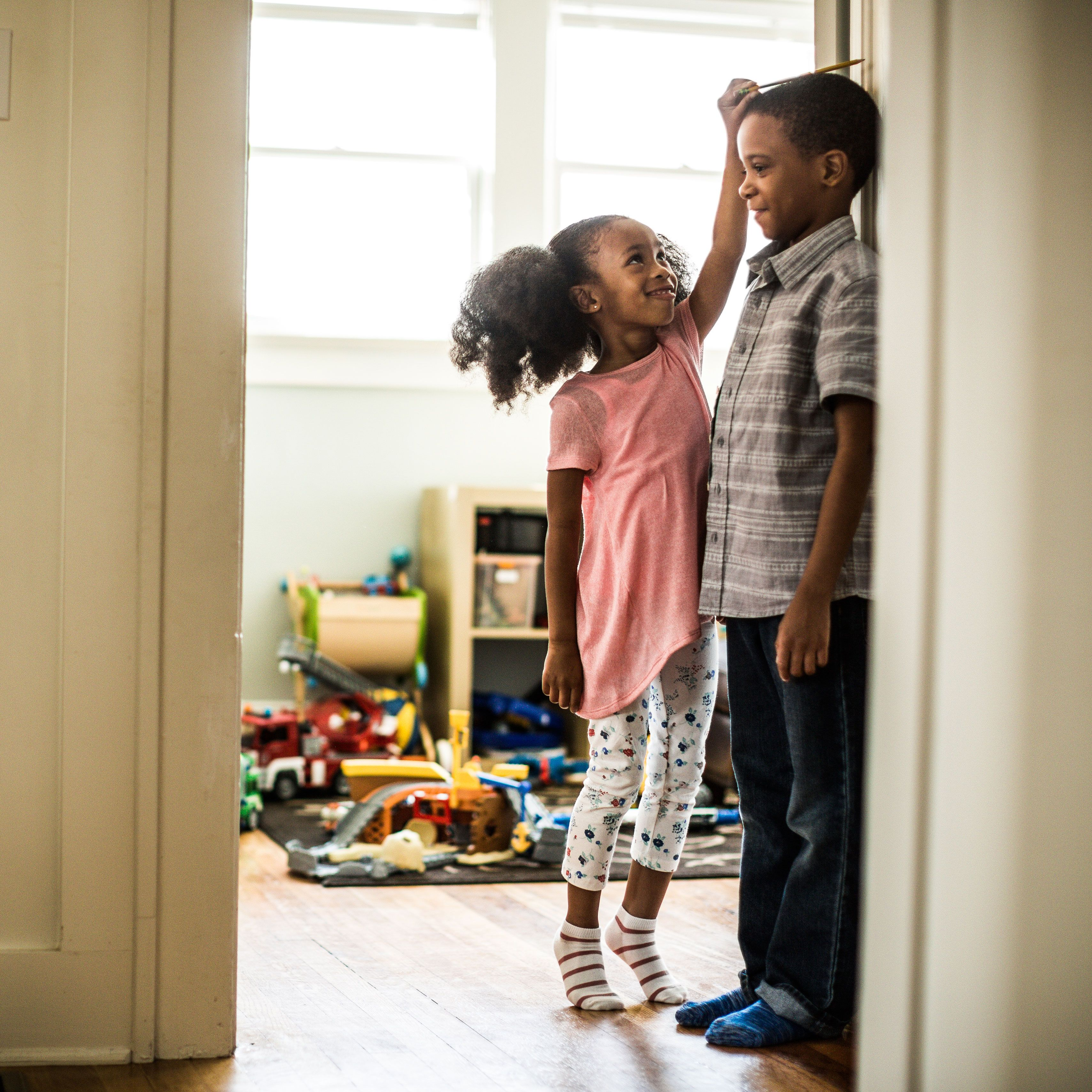 "<p>Children who feel loved and important in their own right are less likely to feel competitive with or jealous of a sibling, says <a href=""http://california.providence.org/saint-johns/find-a-doctor/m/mendez-mayra/"" data-tracking-id=""recirc-text-link"" target=""_blank"">Mayra Mendez</a>, Ph.D., a licensed psychotherapist at Providence Saint John's Child and Family Development Center in Santa Monica, California. You can encourage this by praising children for their unique achievements — not in comparison to one another, but simply to acknowledge what makes each one great. ""No child is better than or less than the other, they're unique,"" she says.<br></p><p><strong data-verified=""redactor"" data-redactor-tag=""strong"">RELATED: <a href=""http://www.redbookmag.com/life/mom-kids/advice/g3649/things-you-should-never-say-to-children/"" target=""_blank"" data-tracking-id=""recirc-text-link"">50 Things You Should Never, Ever Say to Your Kids</a><span class=""redactor-invisible-space"" data-verified=""redactor"" data-redactor-tag=""span"" data-redactor-class=""redactor-invisible-space""><a href=""http://www.redbookmag.com/life/mom-kids/advice/g3649/things-you-should-never-say-to-children/""></a></span></strong><br></p>"