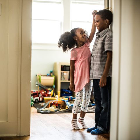 "<p>Children who feel loved and important in their own right are less likely to feel competitive with or jealous of a sibling, says <a href=""http://california.providence.org/saint-johns/find-a-doctor/m/mendez-mayra/"" data-tracking-id=""recirc-text-link"" target=""_blank"">Mayra Mendez</a>, Ph.D., a licensed psychotherapist at Providence Saint John's Child and Family Development Center in Santa Monica, California. You can encourage this by praising children for their unique achievements — not in comparison to one another, but simply to acknowledge what makes each one great. ""No child is better than or less than the other, they're unique,"" she says.<br></p><p><strong data-verified=""redactor"" data-redactor-tag=""strong"">RELATED:&nbsp;<a href=""http://www.redbookmag.com/life/mom-kids/advice/g3649/things-you-should-never-say-to-children/"" target=""_blank"" data-tracking-id=""recirc-text-link"">50 Things You Should Never, Ever Say to Your Kids</a><span class=""redactor-invisible-space"" data-verified=""redactor"" data-redactor-tag=""span"" data-redactor-class=""redactor-invisible-space""><a href=""http://www.redbookmag.com/life/mom-kids/advice/g3649/things-you-should-never-say-to-children/""></a></span></strong><br></p>"