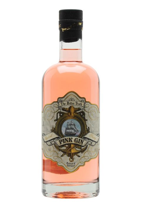 """<p>For a spicier gin and tonic, try making a cocktail using this German gin colored with a special aromatic bitters.</p><p><em data-verified=""""redactor"""" data-redactor-tag=""""em"""">Bitter Truth Pink Gin, $50</em><br></p><p><span class=""""redactor-invisible-space"""" data-verified=""""redactor"""" data-redactor-tag=""""span"""" data-redactor-class=""""redactor-invisible-space""""><strong data-redactor-tag=""""strong"""" data-verified=""""redactor"""">BUY IT: </strong><a href=""""https://www.thewhiskyexchange.com/p/15391/bitter-truth-pink-gin"""" target=""""_blank"""" data-tracking-id=""""recirc-text-link""""><strong data-redactor-tag=""""strong"""" data-verified=""""redactor"""">thewhiskyexchange.com</strong></a></span></p>"""