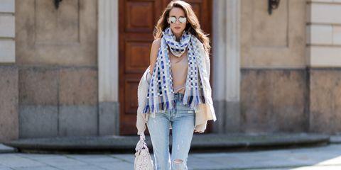 fresh ways to wear a scarf