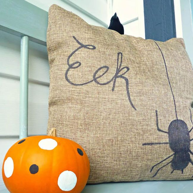 "<p>This burlap pillow is decorated with just Sharpie — the blogger who made it went with a Halloween themed ""eek"" on one side and a Thanksgiving themed ""grateful"" on the other for even more versatility. </p><p><strong data-redactor-tag=""strong"" data-verified=""redactor"">See the full tutorial at <a href=""http://thehappyhousie.porch.com/quickneasy-diy-two-sided-sharpie-pillow-for-fall/"" target=""_blank"" data-tracking-id=""recirc-text-link"">The Happy Housie</a>. </strong></p><p><strong data-redactor-tag=""strong"" data-verified=""redactor"">RELATED: </strong><a href=""http://www.redbookmag.com/beauty/g3524/fall-nail-designs-art/"" target=""_blank"" data-tracking-id=""recirc-text-link""><strong data-redactor-tag=""strong"" data-verified=""redactor"">30 Fall Nail Designs You're Going to Fall In Love With</strong></a></p>"