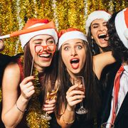 adult christmas party themes
