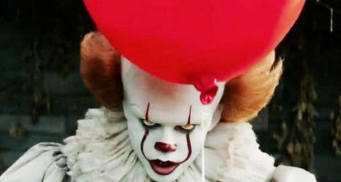 <p>Terrifying clowns are in this season. This one, Pennywise, is the demonic being at the center of Stephen King's 1986 novel, which gets its big-screen adaptation on September 8. </p>