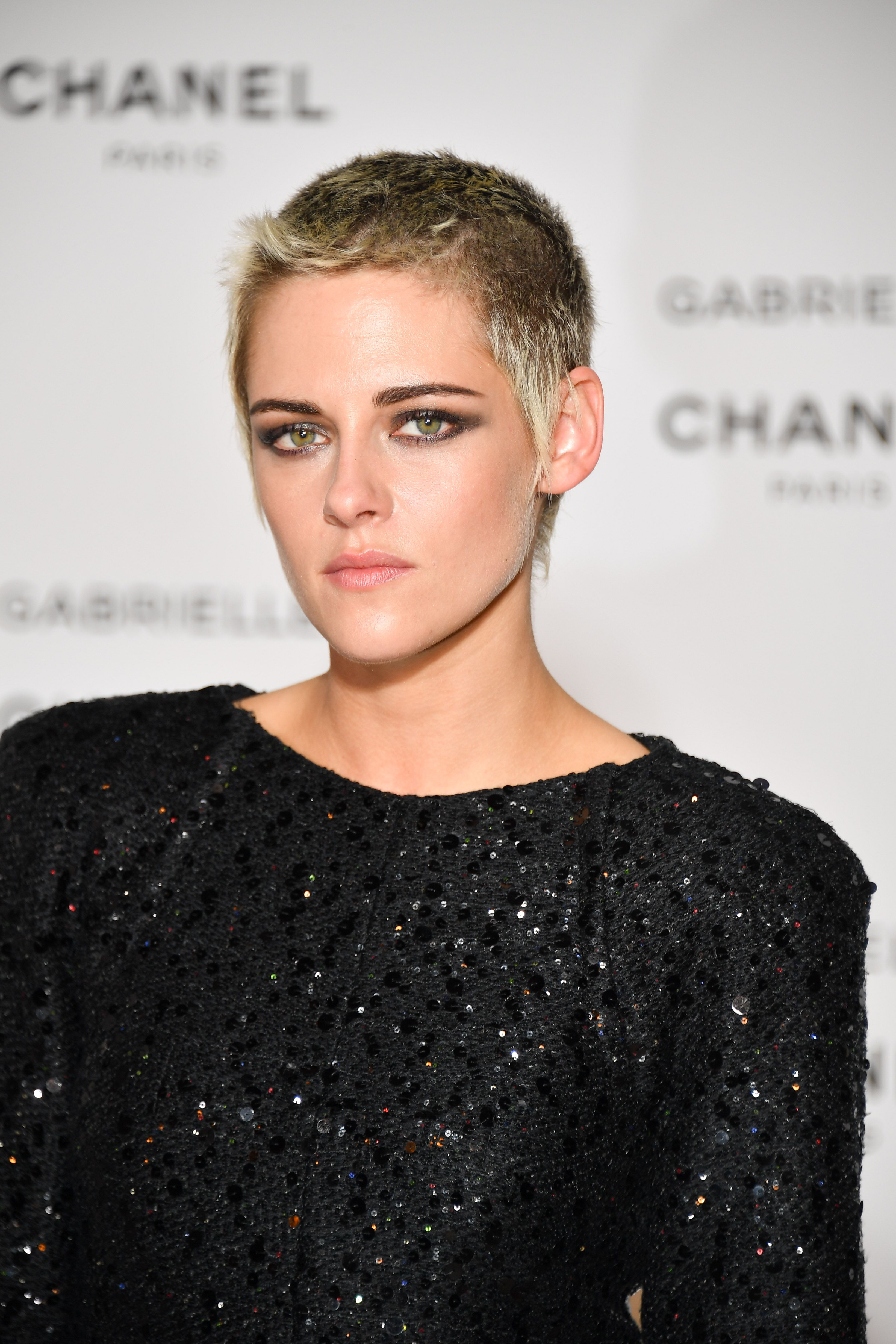 <p>It was only a matter of time before this beauty maven made a leap for a shaved head and then a pixie cut, which she wears in her typical nonchalant fashion (purposeful cowlicks and all). </p>