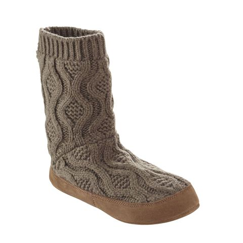 "<p><em data-redactor-tag=""em"" data-verified=""redactor"">(Cable knit slipper sock, L.L. BEAN,&nbsp;$49.95)</em></p><p><a href=""https://www.llbean.com/llb/shop/118759?feat=503422-GN3&amp;page=l-l-bean-slipper-sock-cable-knit&amp;csp=f"" target=""_blank"" data-tracking-id=""recirc-text-link"" class=""slide-buy--button"">BUY NOW</a></p>"
