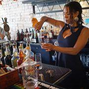 Liqueur, Bartender, Drink, Distilled beverage, Bar, Alcohol,