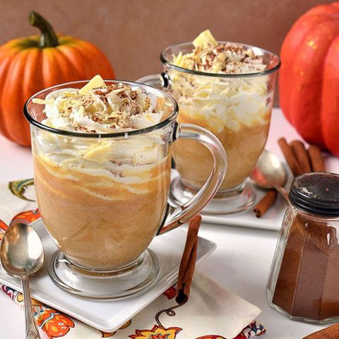 "<p>Name a more iconic duo than pumpkin spice and white chocolate. We'll wait. </p><p><strong data-redactor-tag=""strong""></strong><strong data-redactor-tag=""strong"">Get the recipe at <a href=""https://tidymom.net/2011/pumpkin-spice-white-hot-chocolate/"" target=""_blank"" data-tracking-id=""recirc-text-link"">TidyMom</a>.</strong> </p><p><strong data-redactor-tag=""strong"">RELATED: </strong><a href=""http://www.redbookmag.com/food-recipes/g3580/fall-cocktails/"" target=""_blank"" data-tracking-id=""recirc-text-link""><strong data-redactor-tag=""strong"">18 Fall Cocktails That Taste Just As Good As a Pumpkin Spice Latte (If It Had Alcohol)</strong></a><span class=""redactor-invisible-space"" data-verified=""redactor"" data-redactor-tag=""span"" data-redactor-class=""redactor-invisible-space""><a href=""http://www.redbookmag.com/food-recipes/g3580/fall-cocktails/""></a></span> </p>"