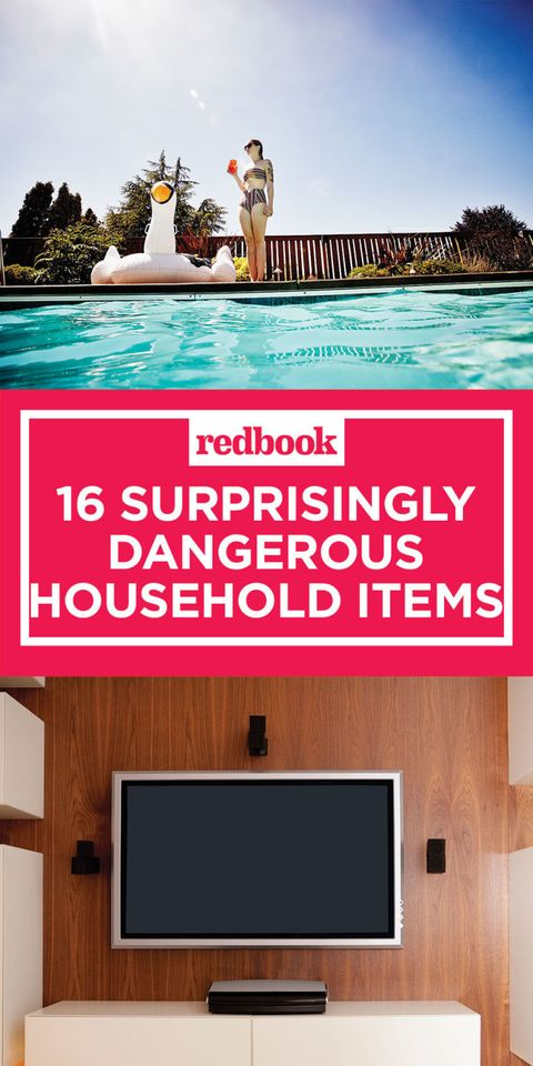 16 common household items that could kill you
