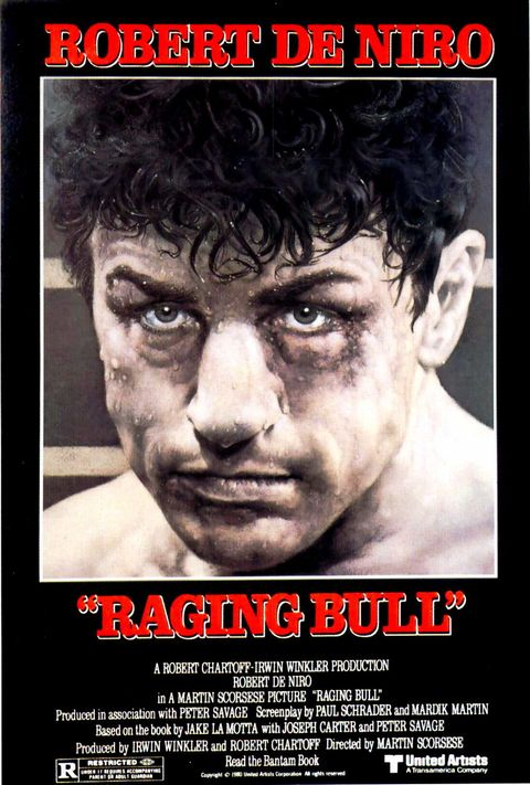 "<p>Undeniably one of Martin Scorsese's best, <i data-redactor-tag=""i"">Raging Bull</i> features Robert De Niro as a tumultuous, but lovable, boxer.</p>"