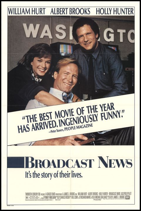 "<p> James L. Brooks's 1987 film told the story of two rival TV<br> reporters and a producer.</p><p><span class=""redactor-invisible-space"" data-verified=""redactor"" data-redactor-tag=""span"" data-redactor-class=""redactor-invisible-space""></span></p>"