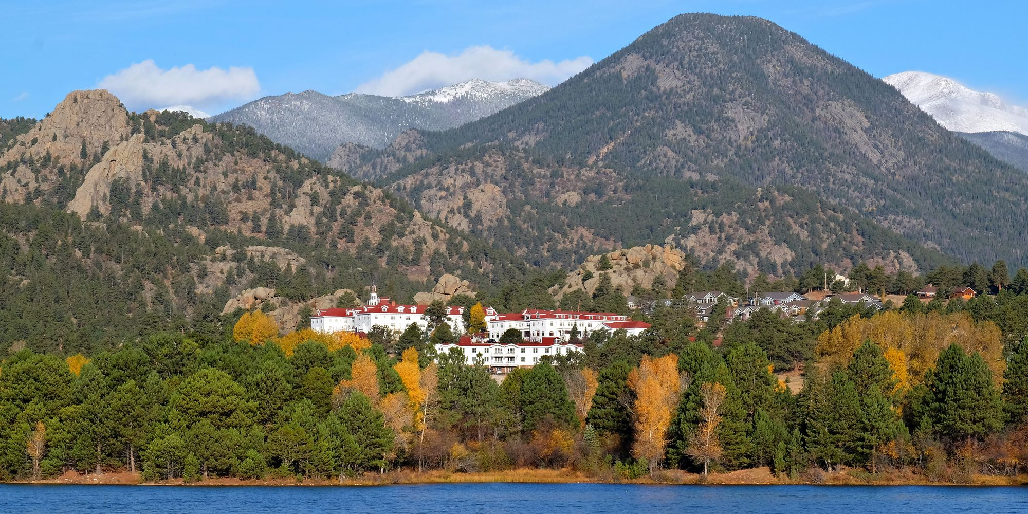 "<p>This mountainside village is home to the <a href=""https://www.tripadvisor.com/Hotel_Review-g60945-d83189-Reviews-Stanley_Hotel-Estes_Park_Colorado.html"" target=""_blank"" data-tracking-id=""recirc-text-link"">historic Stanley Hotel</a>, which was the inspiration behind Stephen King's chilling novel <em data-redactor-tag=""em"" data-verified=""redactor"">The Shining</em><span class=""redactor-invisible-space"" data-verified=""redactor"" data-redactor-tag=""span"" data-redactor-class=""redactor-invisible-space"">. Visitors can get into the Halloween spirit by attending the <a href=""https://www.tripadvisor.com/ShowUserReviews-g60945-d83189-r324898298-Stanley_Hotel-Estes_Park_Colorado.html"" target=""_blank"" data-tracking-id=""recirc-text-link"">""Shining Ball"" or a murder mystery dinner</a> hosted at the hotel. Also fun: On Halloween night, everyone in the community skips door-to-door visits and heads to Main Street for trick-or-treating.</span></p><p><span class=""redactor-invisible-space"" data-verified=""redactor"" data-redactor-tag=""span"" data-redactor-class=""redactor-invisible-space""><a href=""https://www.tripadvisor.com/Tourism-g60945-Estes_Park_Colorado-Vacations.html"" target=""_blank"" data-tracking-id=""recirc-text-link""><em data-redactor-tag=""em"" data-verified=""redactor"">Plan your trip to Estes Park at TripAdvisor.</em></a></span></p>"