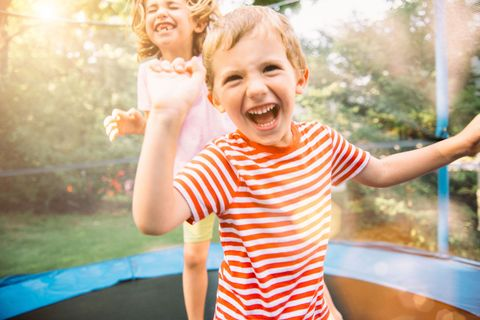 "<p>""It baffles me that so many people have trampolines when the American Academy of Pediatrics has been warning parents about them for years. <a href=""http://www.redbookmag.com/life/a51117/trampoline-toddler-dangers/"" target=""_blank"" data-tracking-id=""recirc-text-link"">Trampolines are culprits</a> in thousands of fractures, sprains, and head and neck injuries every year. And falling&nbsp;<em data-redactor-tag=""em"">off</em>&nbsp;isn't the only problem — injuries also occur when a child lands the wrong way, or someone bigger falls on him. A woman I know was holding her son's hands and bouncing with him when she fell on him and broke his arm! When friends try to convince me that <a href=""http://www.redbookmag.com/life/pets/a47077/bouncing-dog-video-buster-the-boxer-john-lewis-christmas-ad/"" target=""_blank"" data-tracking-id=""recirc-text-link"">trampolines are safe</a>, I always say, 'If you want me to tell you that I think it's OK to have one, don't ask me.' I don't let my kids on them either. They didn't like it much when they were little, but I've shown them X-rays and now they understand. If your child must bounce on something, sign him up for gymnastics, where kids take turns on the trampoline.""<span class=""redactor-invisible-space"" data-verified=""redactor"" data-redactor-tag=""span"" data-redactor-class=""redactor-invisible-space"">&nbsp;<em data-redactor-tag=""em"">—Monica Kogan, M.D., Assistant Professor And Director Of Pediatric Orthopedics At Rush University Medical Center In Chicago</em></span></p>"