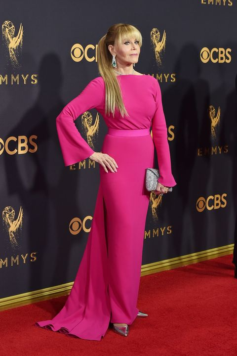 <p>in Brandon Maxwell. </p>