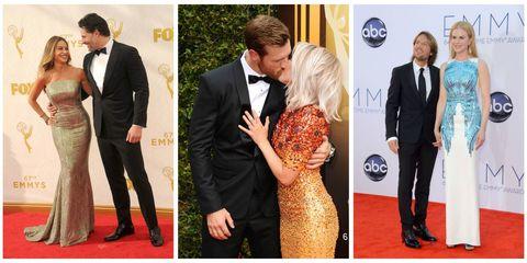 Suit, Red carpet, Formal wear, Carpet, Tuxedo, Event, Flooring, Collage, Dress, Blazer,