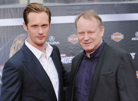 "<p><strong data-redactor-tag=""strong"">Famous parent(s)</strong>: actors My and Stellan Skarsgård<br><strong data-redactor-tag=""strong"">What it was like</strong>: ""He was a great dad when I was growing up but it was tough because I didn't get to see him much,"" Alexander has <a href=""http://entertainment.inquirer.net/96547/alexander-skarsgard-reveals-new-character-in-his-true-blood-life-will-eric-be-killed-off"" target=""_blank"">said</a>. ""He worked 16-hour days, six-to-seven days a week. I would go to the theater and hang out backstage to see dad, basically.""</p>"