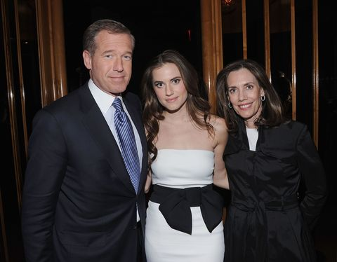 "<p><strong data-redactor-tag=""strong"">Famous parent(s)</strong>: news anchor Brian Williams<br><strong data-redactor-tag=""strong"">What it was like</strong>: ""It took years, and a lot of diligence on my part [to get out of his shadow]. But I've formed my own thing, and now I get people who are surprised to find out he's my dad,"" Allison has <a href=""http://www.latimes.com/entertainment/movies/la-et-mn-allison-williams-2017-story.html"">said</a>. ""I dreamed that would happen, and it has: I'm no longer introduced to people as Brian Williams' daughter.""</p>"