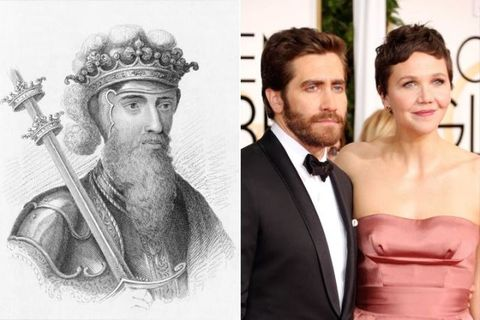 "<p>These <a href=""https://www.cbsnews.com/pictures/the-most-royal-us-celebs/3/"" target=""_blank"" data-tracking-id=""recirc-text-link"">famous actor siblings</a> are related King Edward III of England, who reigned from 1327 to 1377. The relation stems from their father's side of the family.</p>"
