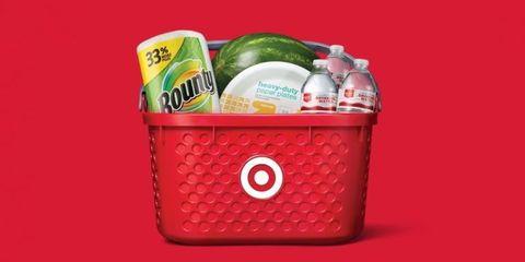 Basket, Present, Plastic, Cooler, Home accessories, Gift basket, Food,