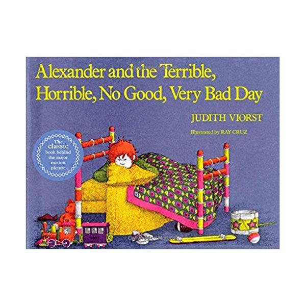 "<p>Alexander is having an absolutely terrible day. He gets gum in his hair, has to eat lima beans, and that's just the beginning. This is the story of how he handles it. </p><p><a href=""https://www.amazon.com/Alexander-Terrible-Horrible-Classic-Board/dp/1442498161?tag=redbook_auto-append-20"" target=""_blank"" class=""slide-buy--button"" data-tracking-id=""recirc-text-link"">BUY NOW</a></p><p><strong data-redactor-tag=""strong"" data-verified=""redactor"">RELATED: </strong><a href=""http://www.redbookmag.com/life/mom-kids/advice/g3649/things-you-should-never-say-to-children/""><strong data-redactor-tag=""strong"" data-verified=""redactor"">50 Things You Should Never, Ever Say to Your Kids</strong></a></p>"