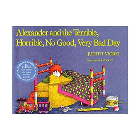 "<p>Alexander is having an absolutely terrible day. He gets gum in his hair,&nbsp;has to eat lima beans, and that's just the beginning. This is the story of how he handles it.&nbsp;</p><p><a href=""https://www.amazon.com/Alexander-Terrible-Horrible-Classic-Board/dp/1442498161?tag=redbook_auto-append-20"" target=""_blank"" class=""slide-buy--button"" data-tracking-id=""recirc-text-link"">BUY NOW</a></p><p><strong data-redactor-tag=""strong"" data-verified=""redactor"">RELATED:&nbsp;</strong><a href=""http://www.redbookmag.com/life/mom-kids/advice/g3649/things-you-should-never-say-to-children/""><strong data-redactor-tag=""strong"" data-verified=""redactor"">50 Things You Should Never, Ever Say to Your Kids</strong></a></p>"