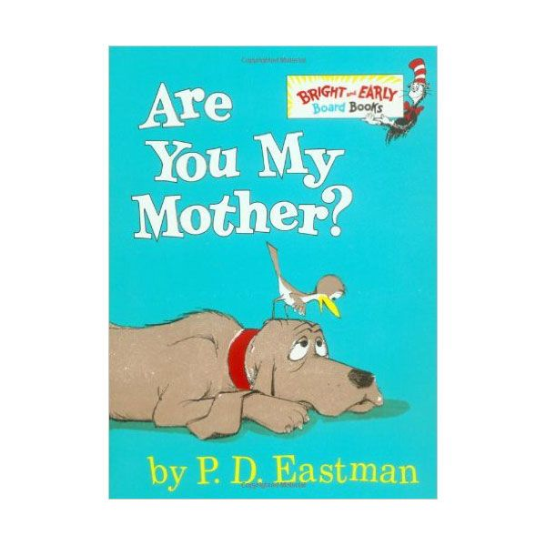 "<p>This book, edited by Dr. Suess, is about a baby bird who hatches to find his mom isn't there. A hilarious journey ensues. </p><p><a href=""https://www.amazon.com/Mother-Bright-Early-Board-Books/dp/0679890475/ref=sr_1_1?s=books&ie=UTF8&qid=1505245746&sr=1-1&keywords=are+you+my+mother&tag=redbook_auto-append-20"" target=""_blank"" class=""slide-buy--button"" data-tracking-id=""recirc-text-link"">BUY NOW</a><br></p>"