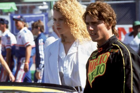 "<p>Kidman and Cruise first met each other&nbsp;on set for the&nbsp;1990 film, <em data-redactor-tag=""em"">Days of Thunder. </em>They <a href=""http://www.marieclaire.com/celebrity/news/a22861/nicole-kidman-reflects-on-marriage-to-tom-cruise/"" target=""_blank"" data-tracking-id=""recirc-text-link"">got married</a> the same year and lasted until their split in 2001. <span class=""redactor-invisible-space"" data-verified=""redactor"" data-redactor-tag=""span"" data-redactor-class=""redactor-invisible-space""></span></p>"