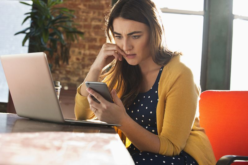 """<p>Moving on in the age of Instagram and Facebook can feel like an impossible task. Which is why, post-<a href=""""http://www.redbookmag.com/love-sex/relationships/a50714/reasons-long-term-couples-break-up/"""" target=""""_blank"""" data-tracking-id=""""recirc-text-link"""">breakup</a>, your ex's profiles should remain off-limits. To keep you from wandering away from your feed (and onto their page), """"I definitely recommend performing a thorough online exorcism in the weeks after a breakup,"""" says <a href=""""http://lisasteadman.com/tag/dating/"""" target=""""_blank"""" data-tracking-id=""""recirc-text-link"""">Lisa Steadman</a>, relationship expert and author of<em data-verified=""""redactor"""" data-redactor-tag=""""em"""">It's a Breakup, Not a Breakdown.</em><span class=""""redactor-invisible-space"""" data-verified=""""redactor"""" data-redactor-tag=""""span"""" data-redactor-class=""""redactor-invisible-space"""">That means unfollowing them on Facebook, muting them on Twitter, and untagging any photos of the two of you together. """"It's just easier for you to not constantly see what they're up to, who they're with, and what their life is like without you in it.""""</span></p>"""