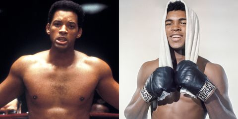 """<p>Will Smith in his prime. Smith played Muhammad Ali in the 2001 film—wait for it—<em data-redactor-tag=""""em"""">Ali.</em></p>"""