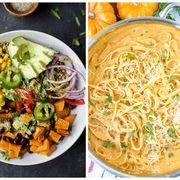 Dish, Food, Cuisine, Ingredient, Capellini, Noodle, Carbonara, Comfort food, Produce, Recipe,
