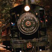 Transport, Locomotive, Train, Steam engine, Vehicle, Mode of transport, Track, Auto part, Railway, Rolling stock,