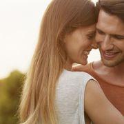 Forehead, Romance, Love, Skin, Cheek, Honeymoon, Interaction, Happy, Smile, Fun,