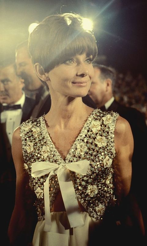 <p>Audrey Hepburn at the 40th Annual Academy Awards.</p>