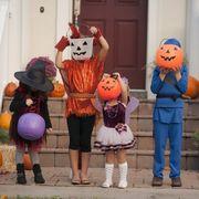 trick-or-treat, Mascot, Costume, Pumpkin,