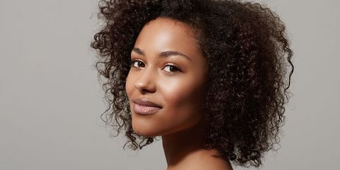 Hair, Hairstyle, Face, Black hair, Eyebrow, Beauty, Jheri curl, Chin, Skin, Afro,