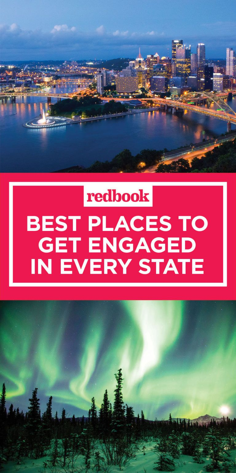 Best places to get engaged in every state most romantic for Most romantic place to get married