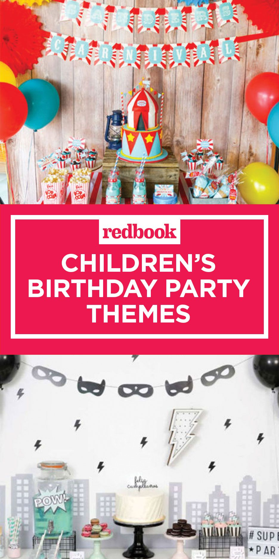 Thematic birthday for adults and children
